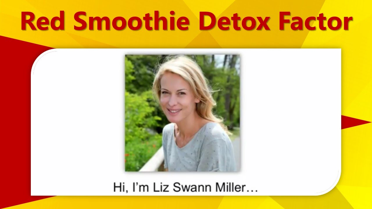 Red Smoothie Detox Factor Youtube